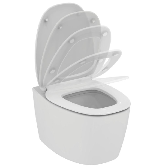 Окачена тоалетна чиния DEA, с AQUABLADE технология