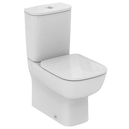 Стояща тоалетна чиния ESEDRA, в комплект с казанче и тоалетна седалка