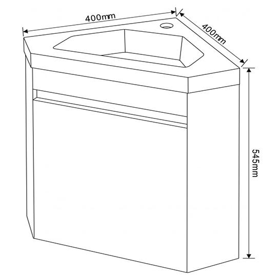 Долен шкаф за баня PVC 3939